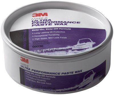 3M (09030) Marine Ultra Performance Paste Wax, 09030, 9.5 oz, 6 per case [You are purchasing the Min order quantity which is 6 CANS]