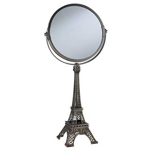 Taymor Mini Paris Mirror, One Size, Bronze (Paris Bedroom Decor)