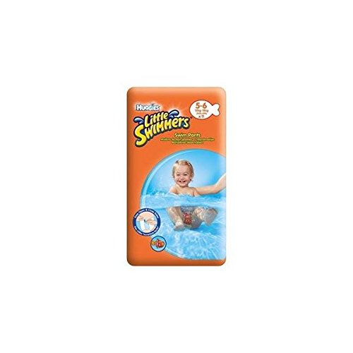 Huggies Little Swimmers Swim Pants Size 5-6 12-18kg x 11 per pack GroceryCentre