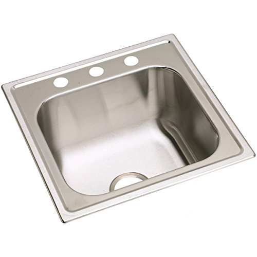 (Elkay DPC12020103 Dayton Single Bowl Drop-in Stainless Steel Laundry Sink)