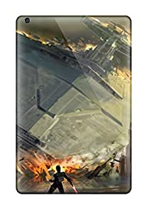High-quality Durable Protection Case For Ipad Mini/mini 2(artistic Swtfu Star Destroyer Force Pull)