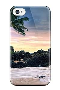 Special ZippyDoritEduard Skin Case Cover For Iphone 4/4s, Popular Hawaii Secret Beach Phone Case