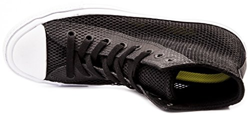 Converse Chuck II Open Knit Herren Sneaker Schwarz 42