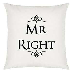 Mr Derecho Diseño almohada grandes con relleno