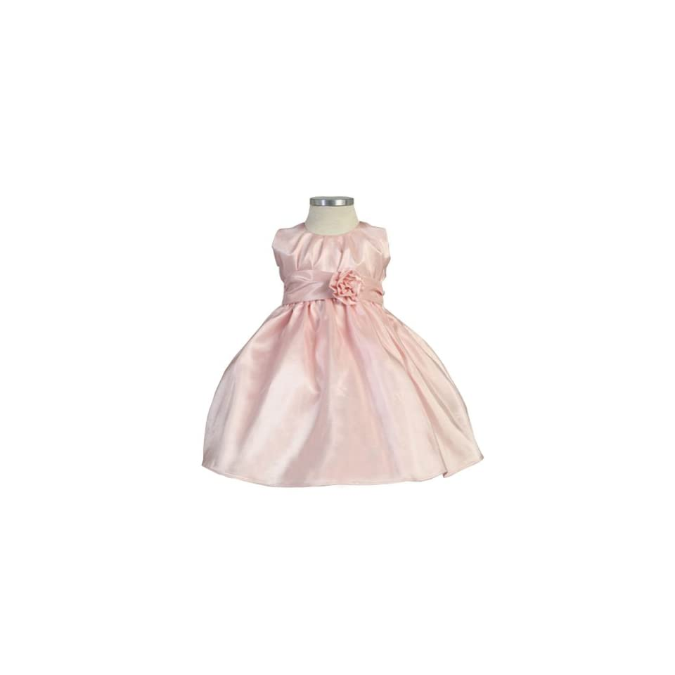 Sweet Kids Baby Toddler Little Girls Pink Pleated Easter Dress 6M 12 Sweet Kids Baby