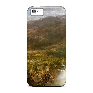 For Iphone 5c Premium Tpu Case Cover A Wonderful Scene Protective Case