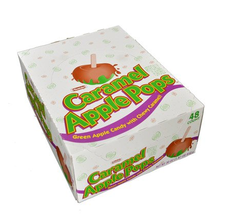 Tootsie Caramel Apple Lollipops - 48 / Box