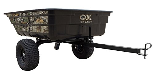 Realtree Half-Ton Hauler Lift-Assist and Swivel Dump Cart