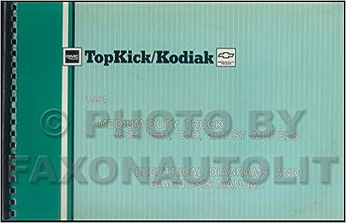 1991 gmc topkick wiring diagram 1991 gmc chevy topkick  kodiak    s7 wiring diagram manual  1991 gmc chevy topkick  kodiak    s7