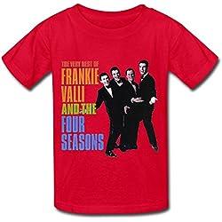 Frankie Valli The Four Seasons Tour 2016 T Shirt For Kids Big Boys' Big Girls'