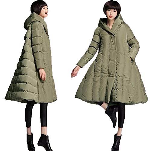 Green Invernale Cappuccio Donna Giubbotto Cappotto Packable Ultraleggeri Giacca Giacche Piumino Cotone Inverno Wy Trapuntato qOBfYf