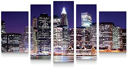 Startonight Canvas Wall Art New York City