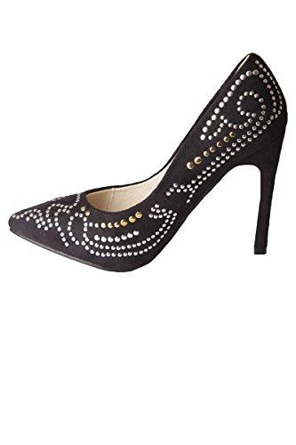 Nere top Da amp; Donna Pantofole S Hi R Uwv17