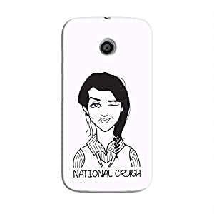 Cover It Up - National Crush Moto E Hard Case