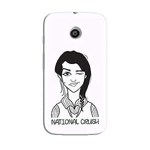 Cover It Up - National Crush Moto E Hard Case