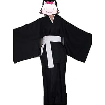 Fantasycart Japanese BLEACH Death Costume Shinigami Kimono M