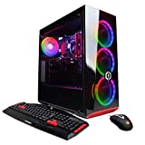 CyberpowerPC Gamer Xtreme VR GXiVR8060A7 Gaming PC (Intel i5-9400F 2.9GHz 8GB DDR4, NVIDIA GeForce GTX 1660 6GB, 120GB SSD, 1TB HDD, 802.11AC WiFi & Win 10 Home) Black