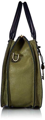 Leaf Satchel Ryder Bay Handbag Fossil WIF80qYww