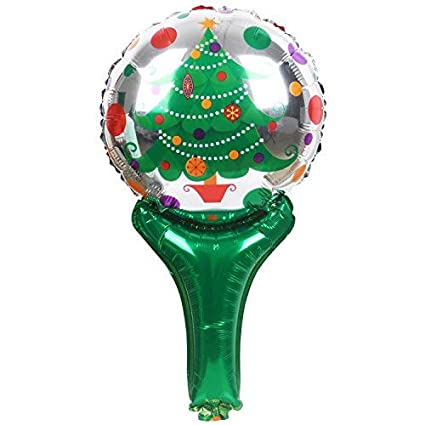 Christmas Tree Balloon.Trixes Christmas Tree Balloon Foil Helium Festive