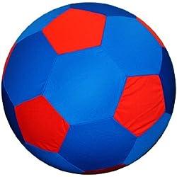 Horsemen's Pride Mega Soccer Ball Blue Cover, 25-Inch