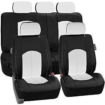 Fh Group Neoprene Waterproof Car Seat Covers Airbag Ready Gray