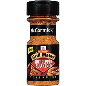 McCormick Grill Mates Hot Pepper Blackened - 2.5 Oz (2-Pack)