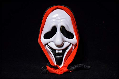 ATOLY Halloween Ball Ghost Festival Terror Devil Screaming Bag Cloth Mask]()