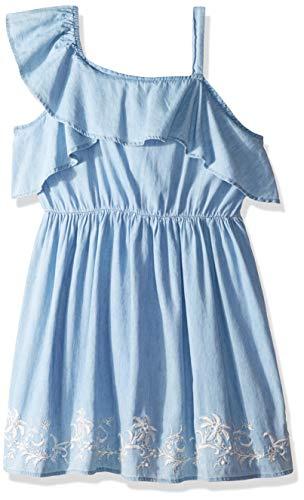 Lucky Brand Big Girls' Cold Shoulder Dress, Brielle Stormi XL]()