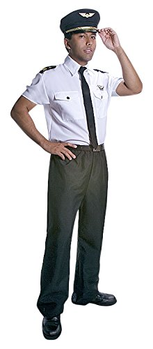 Dress Up America Adults Deluxe Pilot Costume