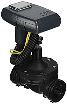 """DIG ECO1ILV.075 Single Station Solar Powered Irrigation Controller Mounted on a 3/4"""" Inline Valve"""