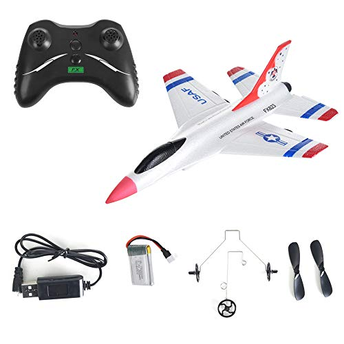 FX-823 RC Airplane Flying Glider Plane Remote Control Helicopter Birthday Party Favor Plane 2.4G 2CH-Outdoor Sports Toy-EPP Foam by Sipring (Image #2)