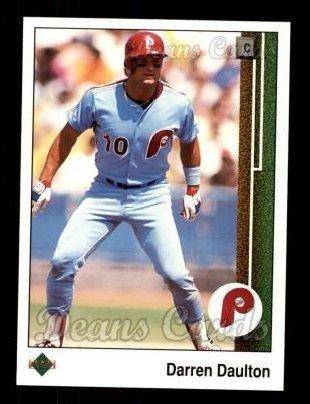 d6ea6460b 1989 Upper Deck   448 Darren Daulton Philadelphia Phillies (Baseball Card)  Dean s Cards 8