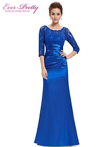 Blues Clues Dress Up Day (Tayla Shaw Elegant Evening Dresses Lace Women's Long Purple Dresses Sapphire blue 10)