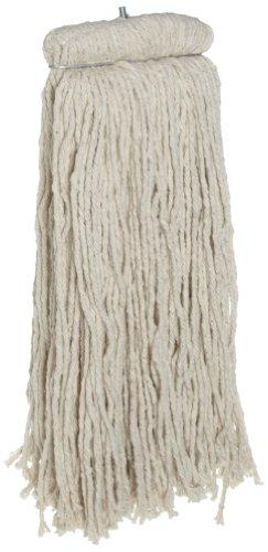 Rubbermaid Commercial FGF16900WH00 Premium Bolt-On Cut-End Cotton Mop, 32-ounce (Head Rubbermaid Mop Premium)