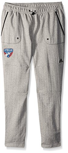 MLS Fc Dallas Ultimate Worn French Terry Jogger Pants, Large, Medium Grey