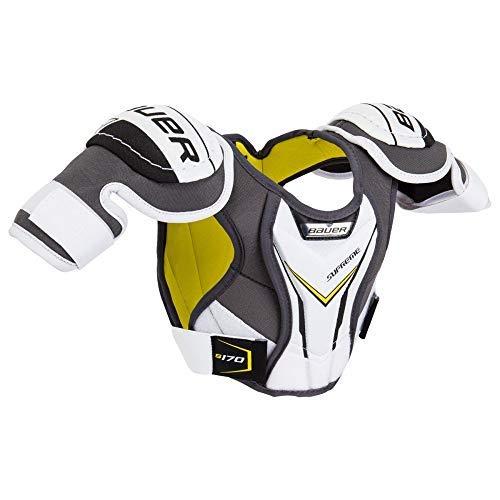 (Bauer Supreme S170 Hockey Shoulder Pads (YTH M))