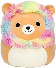 "Squishmallow Official Kellytoy Plush 12"" Leonard The Rainbow Mane Lion - Ultrasoft Stuffed Animal Plus"