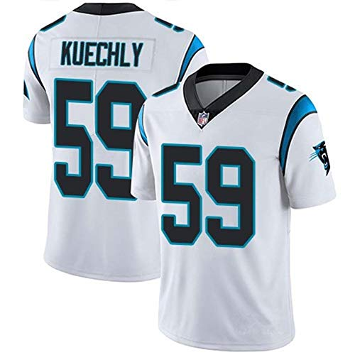 Personalized Football Jersey/T-Shirts Carolina Panthers NFL Youth Mid-Tier Jersey Black Embroidered Your Team, Name, and Number