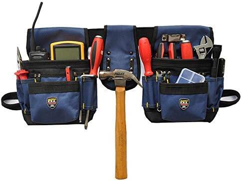 Queenwind 1 の電気技師のウエストのポケット用具のベルトのポーチ袋のスクリュードライバーのキットのホールダー