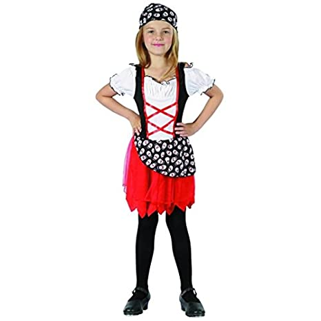 Disfraz pirata niña - 10-12 años: Amazon.es: Juguetes y juegos