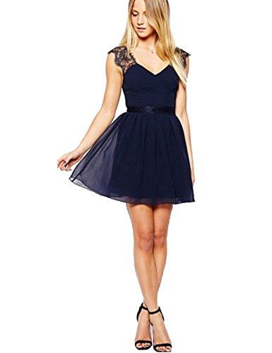 JOTHIN - Robe - Cocktail - Femme bleu bleu taille unique