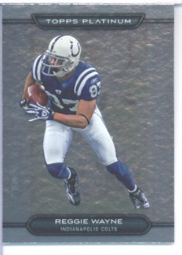 Topps 2010 Platinum Ballon de foot Card#17 Reggie Indianapolis Colts Wayne