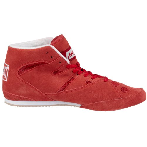 Everlast 8000B - Botines de boxeo Rojo (Red)