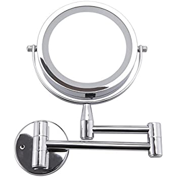Amazon Com 10x Magnifying Lighted Makeup Mirror With