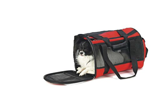 - Ethical Large Carryall Pet Bag, Red