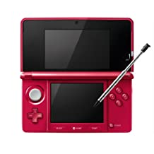 Nintendo 3DS - Metalic Red - Japanese Import (Japanese Imported Version - only plays Japanese version games)