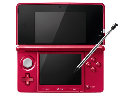 Nintendo 3DS - Metalic Red - Japanese Import (Japanese Imported Version - only plays Japanese version games) (Imports)
