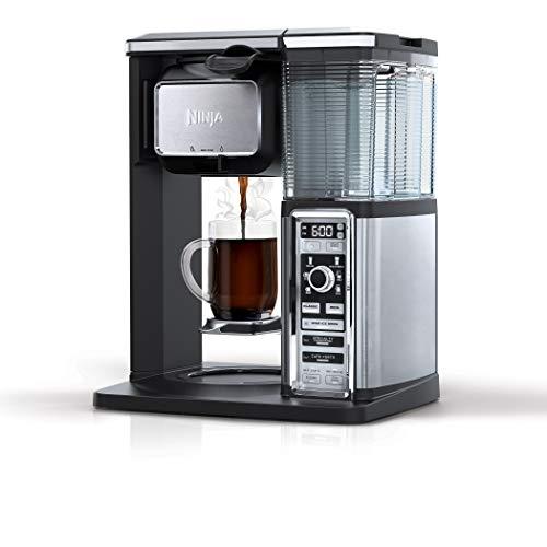 Ninja CF091 Coffee Makers, 50 oz, Silver