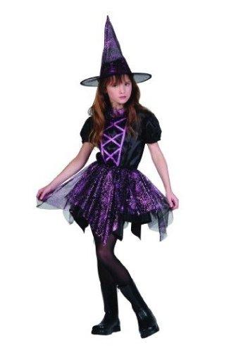 RG Costumes Glitter Spiderina Costume, Child Small -