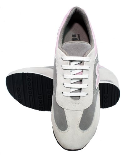 W-TOTO 1563-(3 7,62 cm, altezza Inches)-Tappetto aumentare ascensore Scarpe da ginnastica da donna, in pelle scamosciata